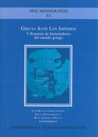 Libro GRECIA ANTE LOS IMPERIOS: V REUNION DE HISTORIADORES DEL MUNDO GR IEGO