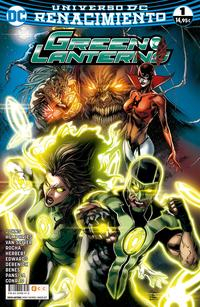 Libro GREEN LANTERNS Nº 01