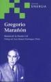 Libro GREGORIO MARAÑON