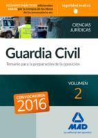 Libro GUARDIA CIVIL TEMARIO PARA LA PREPARACIÓN DE OPOSICIÓN