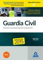 Libro GUARDIA CIVIL. TEST PARA LA PREPARACIÓN DE OPOSICIÓN