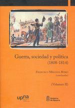 Libro GUERRA, SOCIEDAD Y POLITICA 1808-1814