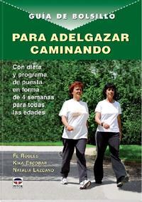 Libro GUIA DE BOLSILLO PARA ADELGAZAR CAMINANDO