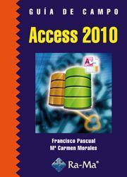 Libro GUIA DE CAMPO ACCESS 2010