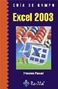 Libro GUIA DE CAMPO EXCEL 2003