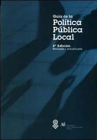 Libro GUIA DE LA POLITICA PUBLICA LOCAL