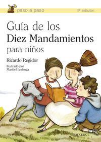 Libro GUIA DE LOS DIEZ MANDAMIENTOS PARA NIÑOS