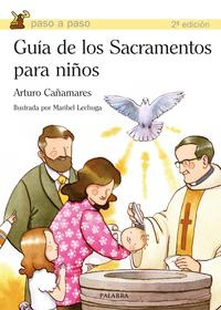 Libro GUIA DE LOS SACRAMENTOS PARA NIÑOS