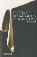 Libro GUIA DE RESTAURANTES DE BARCELONA