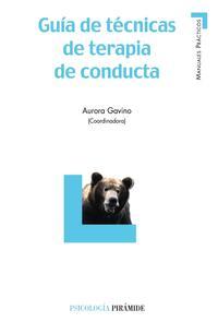 Libro GUIA DE TECNICAS DE TERAPIA DE CONDUCTA