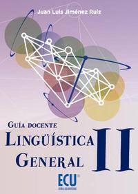 Libro GUIA DOCENTE LINGUISTICA GENERAL II