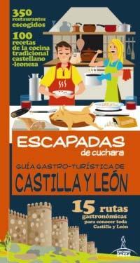 Libro GUIA GASTRO-TURISTICA DE CASTILLA Y LEON: 15 RUTAS GASTRONOMICAS PARA CONOCER TODA CASTILLA Y LEON