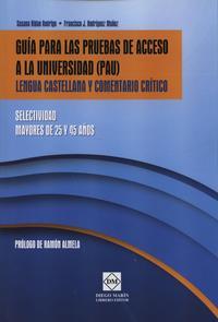 Libro GUIA PARA LAS PRUEBAS DE ACCESO A LA UNIVERSIDAD