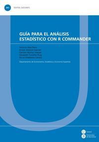 Libro GUÍA PARA EL ANÁLISIS ESTADÍSTICO CON R COMMANDER