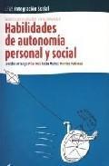 Libro HABILIDADES DE AUTONOMIA PERSONAL Y SOCIAL
