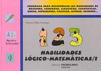 Libro HABILIDADES LOGICO-MATEMATICAS 1