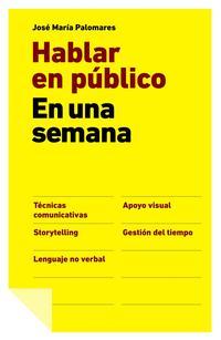Libro HABLAR EN PUBLICO EN UNA SEMANA