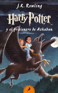 Libro HARRY POTTER Y EL PRISIONERO DE AZKABAN (#3)