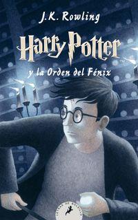 Libro HARRY POTTER Y LA ORDEN DEL FENIX (#5)