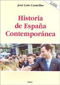 Libro HISTORIA DE ESPAÑA CONTEMPORANEA