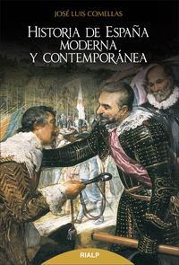 Libro HISTORIA DE ESPAÑA MODERNA Y CONTEMPORÁNEA