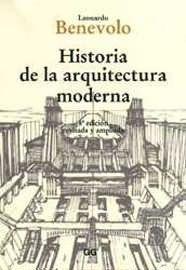 Libro HISTORIA DE LA ARQUITECTURA MODERNA