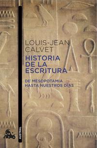 Libro HISTORIA DE LA ESCRITURA