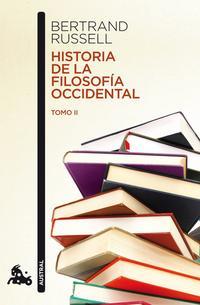 Libro HISTORIA DE LA FILOSOFIA OCCIDENTAL II