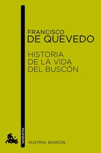 Libro HISTORIA DE LA VIDA DEL BUSCON