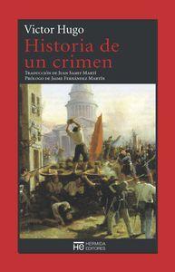 Libro HISTORIA DE UN CRIMEN
