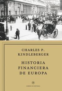 Libro HISTORIA FINANCIERA DE EUROPA