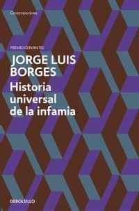 Libro HISTORIA UNIVERSAL DE LA INFAMIA