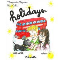 Libro HOLIDAYS PRIMARIA Nº 2  SALVATELLA