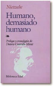 Libro HUMANO, DEMASIADO HUMANO