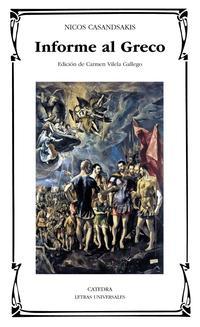 Libro INFORME AL GRECO