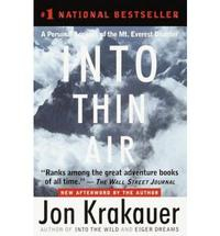 Libro INTO THIN AIR: A PERSONAL ACCOUNT OF THE MOUNT EVEREST DISASTER