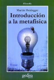 Libro INTRODUCCION A LA METAFISICA