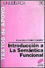 Libro INTRODUCCION A LA SEMANTICA FUNCIONAL