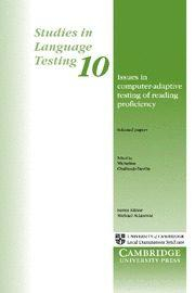 Libro ISSUES IN COMPUTER ADAPTIVE TESTING OF READING PROFICIENCY