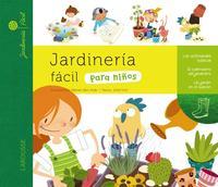 Libro JARDINERIA FACIL PARA NIÑOS