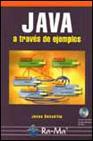 Libro JAVA A TRAVES DE EJEMPLOS