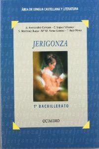 Libro JERIGONZA, 1º BACHILLERATO