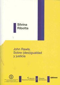 Libro JOHN RAWLS. SOBREIGUALDAD Y JUSTICIA