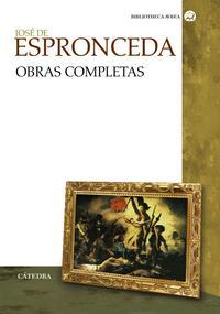 Libro JOSE DE ESPRONCEDA: OBRAS COMPLETAS