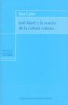 Libro JOSE MARTI Y LA NOVELA DE LA CULTURA CUBANA