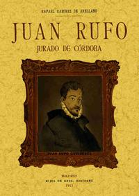Libro JUAN RUFO: JURADO DE CORDOBA