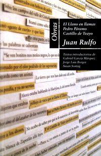 Libro OBRAS DE JUAN RULFO