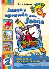 Libro JUEGA Y APRENDE CON JESUS /02