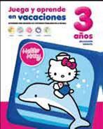 Libro JUEGA Y APRENDE EN VACACIONES HELLO KITTY