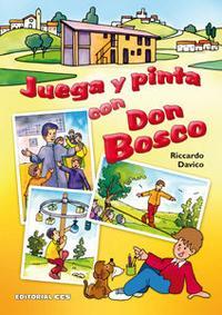 Libro JUEGA Y PINTA CON DON BOSCO
